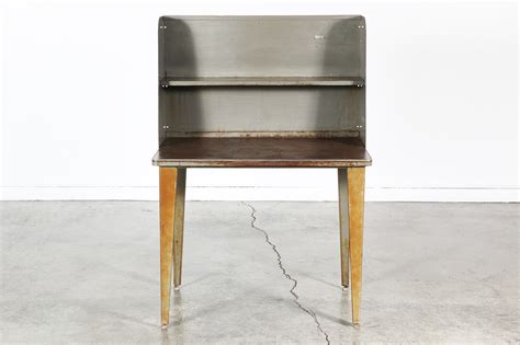 vintage industrial metal desk vintage industrial metal writing desk vintage supply store