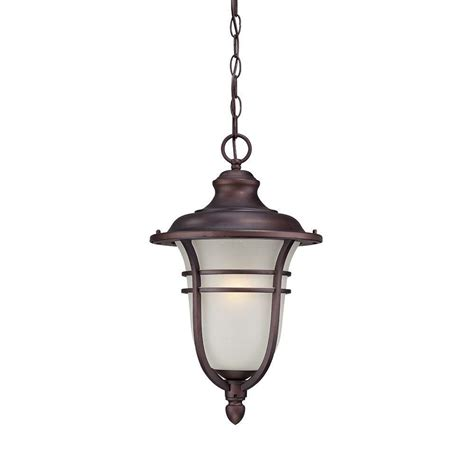 Home Depot Outside Light Fixtures Acclaim Lighting Montclair 1 Light Architectural Bronze Outdoor Hanging Light Fixture 3676abz