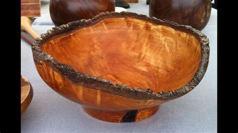 bradford pear natural edge bowl youtube