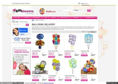 Online Colorful Balloons Delivery To USA