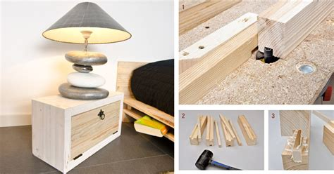 comodini legno fai da te comodino fai da te bricoportale fai da te e bricolage