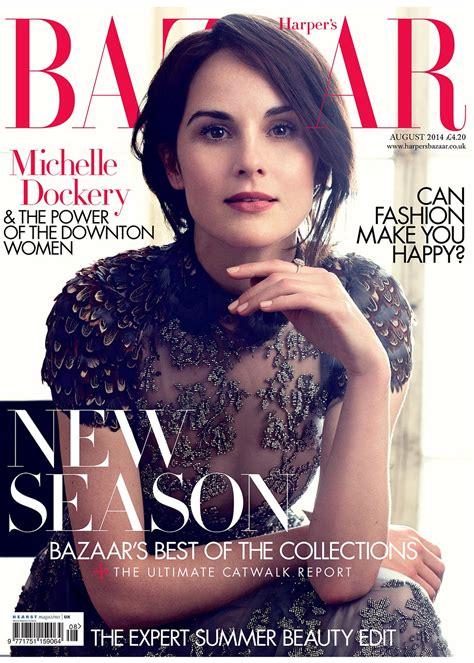 In Harpers Bazaar by Dockery And Downton Actresses In