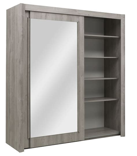 Sliding Door Armoire Wardrobe Two Sliding Door Wardrobe