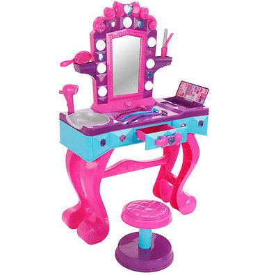 toddler hairdresser set beauty salon vanity hairdresser girls play set toy mirror