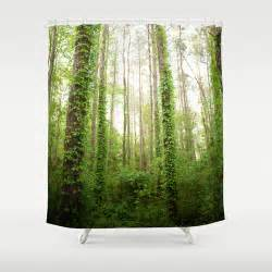 enchanted forest shower curtain by studiomarshallarts