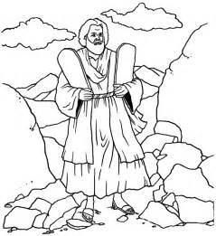 10 commandments coloring page ten commandments coloring page
