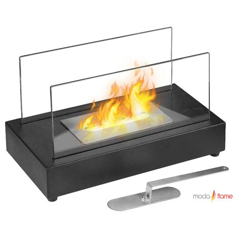 moda vigo table top indoor outdoor ethanol fireplace