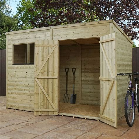 10 X 6 Shed Floor - 10 x 6 pressure treated tongue and groove pent shed