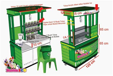 design gerobak usaha quot salatiga booth quot salatiga jasa desain logo usaha jasa
