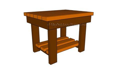 patio  table plans myoutdoorplans  woodworking