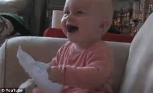 Rejection Letter Baby Laughing Families 163 100 000 From Hilarious Home Daily Mail
