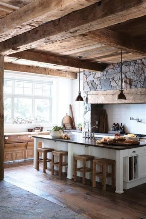 this wood beam ceiling all things country