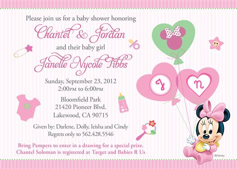 baby shower announcements templates images invitation template invitations ideas