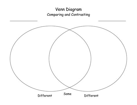 venn diagram template word sle venn diagram template it resume cover letter sle