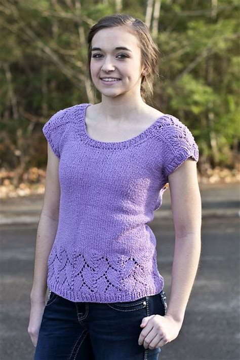 knit sweater pattern top down free knitting knitting patterns and lace detail on pinterest