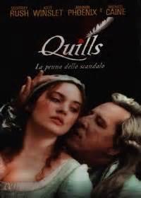 film quills la penna dello scandalo noleggio dvd videoteca grifofilm