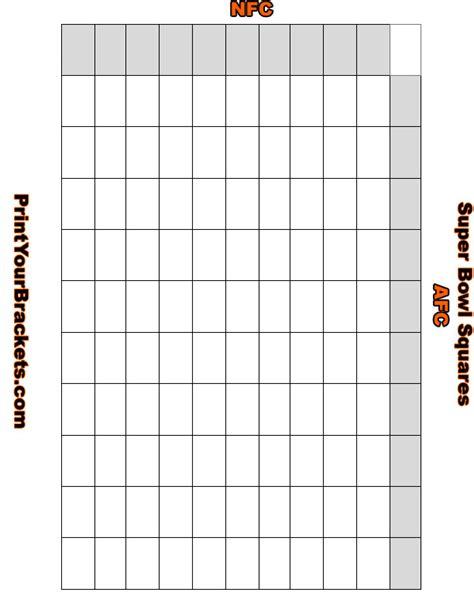 printable superbowl squares template 25 bowl squares 2015 search results calendar 2015