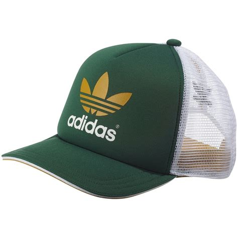 gorra trucker adidas verde amarillo blanco clothes that