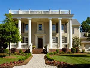 Southern Living House Plans One Story Greek Revival Architecture Hgtv