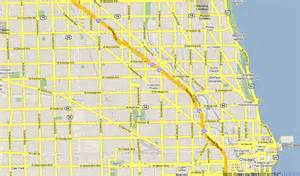 Chicago Streets Map by Map Of Chicago Streets