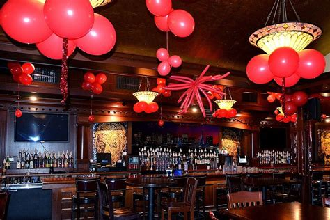 new year s red ceiling decor the greatest bar 4th floor