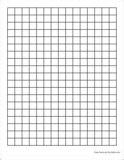 printable graph paper 1 inch 5 best images of square inch grid paper printable 1 inch