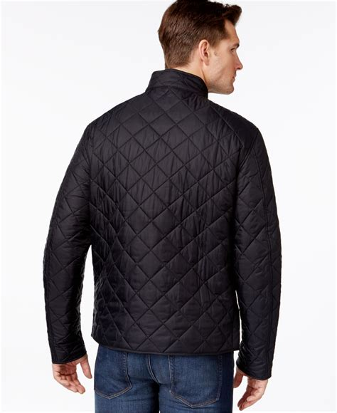 Barbour Black Quilted Jacket by Barbour Axle Quilted Jacket In Black For Lyst