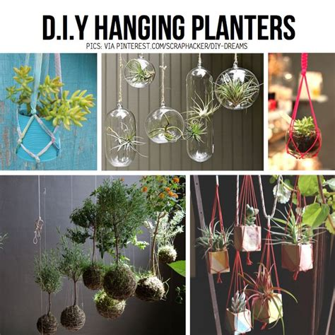 diy hanging tree i some of these ideas like the hanging planter diy