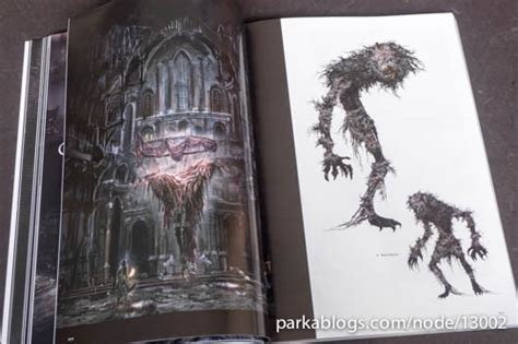 bloodborne official artworks book review bloodborne official artworks udon publication parka blogs