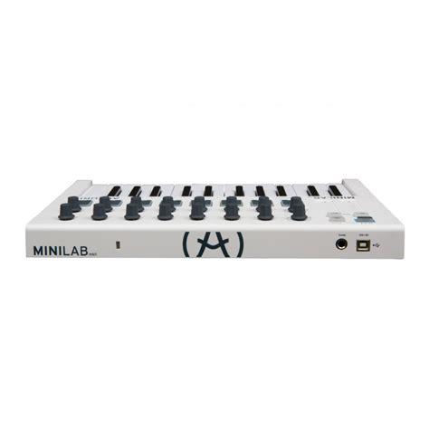 Arturia Minilab Mk2 arturia minilab mkii midi controller