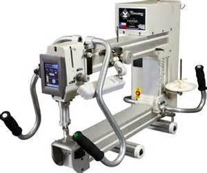 arm quilting machines with stitch regulator