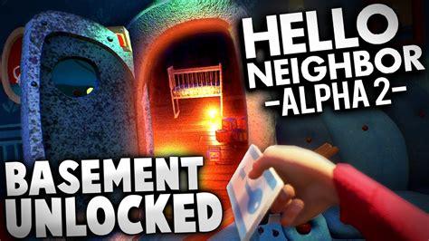 home design game neighbors hello neighbor alpha 2 ep 1 a hello neighbor alpha 2 we re in the basement hello