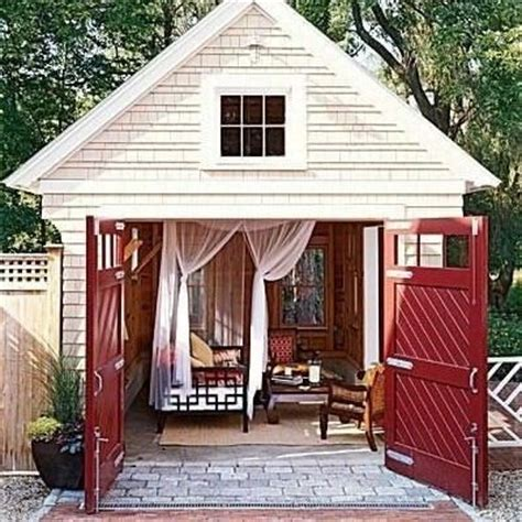 Shed Retreats by Converted Garage Backyard Retreats And Sheds