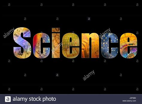 background themes in word word science formed by colorful science background themes