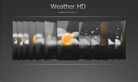 Miui Weather Themes | miui ls theme hd weather