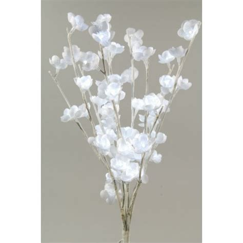 lumineo 60 cool white led flower lights