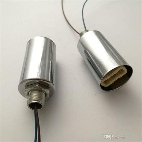g9 ceramic l holder polished chrome tillary single socket hanging l