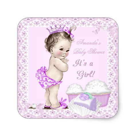 2 the square sweet 1906650829 girly cute pink baby shower invitations party ideas