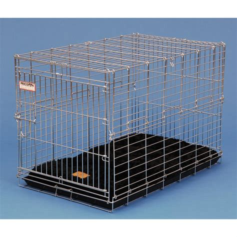 precision crate precision pet 174 suitcase crate 42x28x31 quot 174213 kennels beds at sportsman s guide