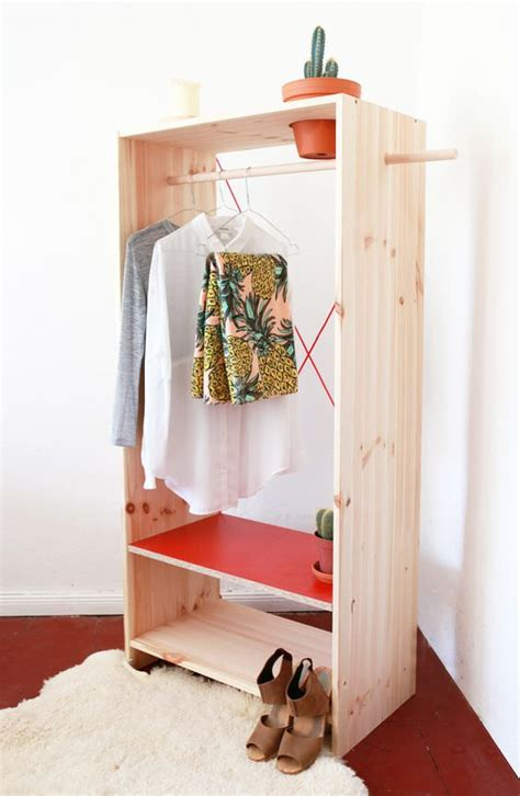 Diy Wardrobes by Wonderful Wardrobe Clothing Rack Projects Decorating