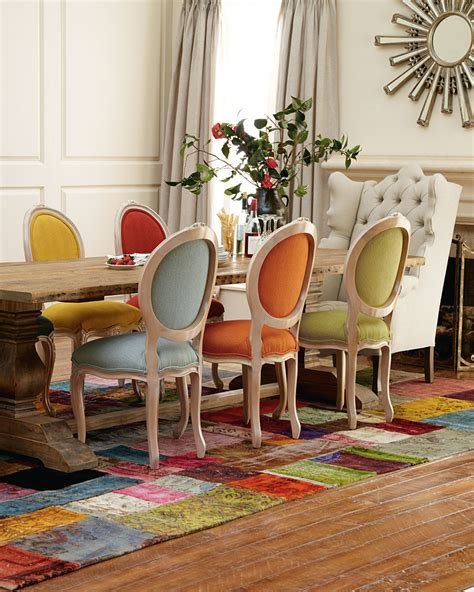 Colourful Dining Table And Chairs 20 Mix And Match Dining Chairs Design Ideas