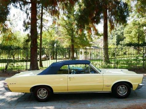 old cars and repair manuals free 1965 pontiac lemans security system 1965 pontiac gto 90 366 miles yellow convertible 389 manual for sale pontiac other gto 1965