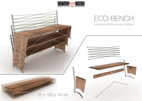 concept of bar bench relation eco bench from designnobis tuvie