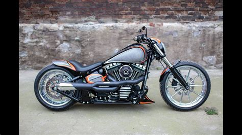 Custom Harley Davidsons For Sale by For Sale Harley Davidson Breakout Softail Custom Nine