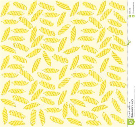 vector italian pasta pattern stock illustration fusilli italian pasta seamless pattern stock illustration
