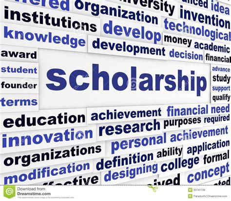 design management scholarship scholarship conceptual message design royalty free stock