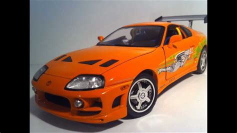 Why Are Toyota Supras So Fast Toyota Supra 1 18 Fast And Furious Streetglow