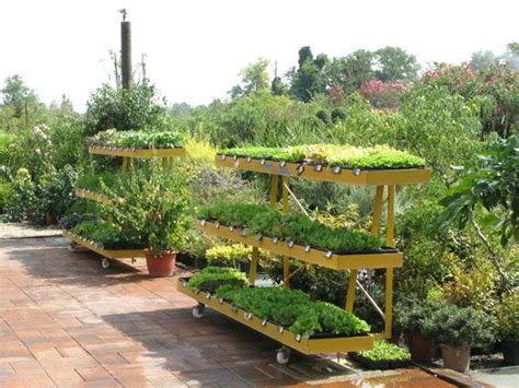 garden centre display benches 25 best ideas about garden center displays on pinterest