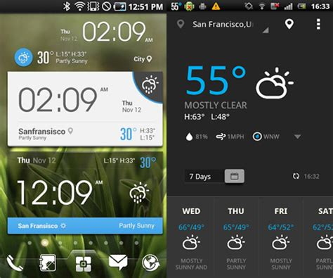 android widget 5 awesome weather widgets for your android home screen