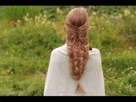 mermaid tail braid youtube